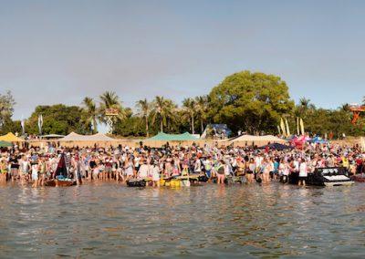 BCR 2016 Panarama from Boat Flat