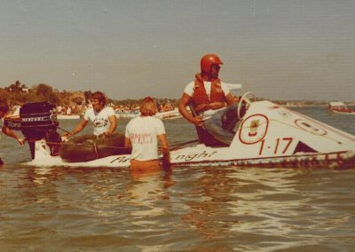 1974.0616 Kevin JAQUES ready in 1st Beer Can Regatta