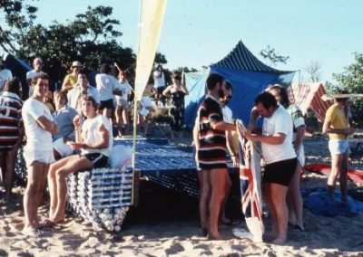 Beer can regatta 1980