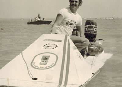 1974.0616 Kevin JAQUES - Pistol Knight 1st beer can regatta Darwin