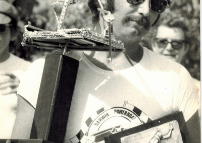 1974.0616 Kevin JAQUES won 1st beer can regatta Darwin