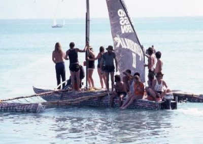 Beer can regatta Mindil Beach 1987